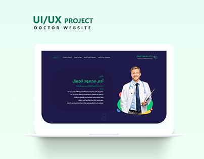 Doctor-Landing Page   UX/UI Design