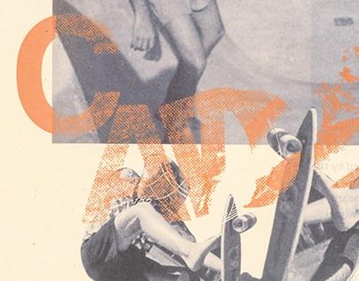 Cadillac Wheels Homage Poster