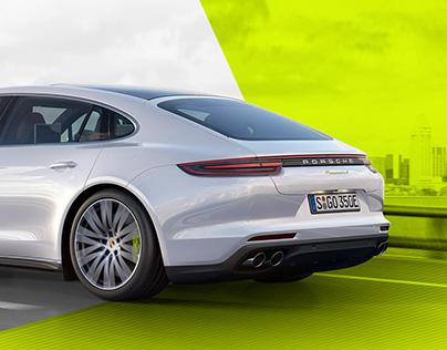Porsche Panamera 4 E-Hybrid Reveal