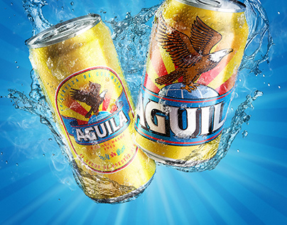 Aguila Latas Splash