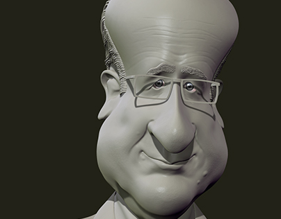 Caricature F.Holland
