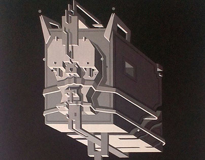 Monochrome canvas