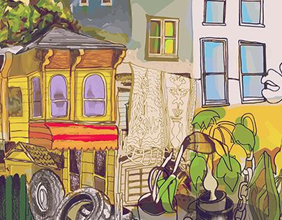 Bay Area Illustrations