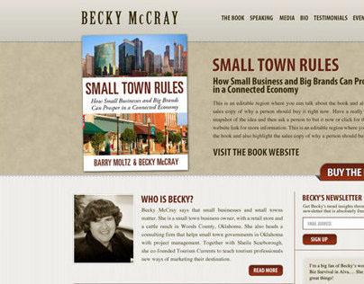 Becky McCray, Author