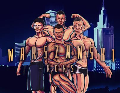 Bodybuilders Illustration