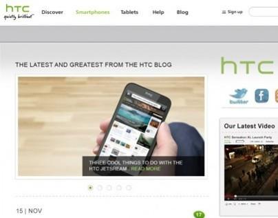 HTC Blog Design