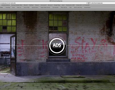 ADS schoonmaakgroep. Thema: 'schoon volgens ons'