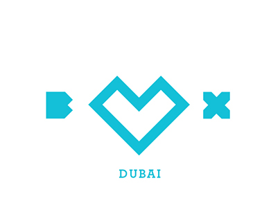 BOX DUBAI Branding Identity