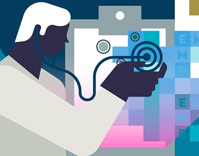 Medical blog illustrations