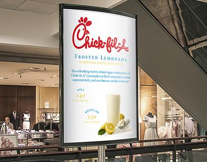 Chick-Fil-A Advertisement Mockup