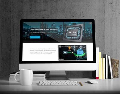 TechData Ryzen Hubspot Landing Page