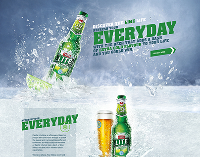 Castle Lite Lime Website