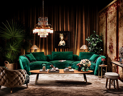 BLACK TIE Furniture Render