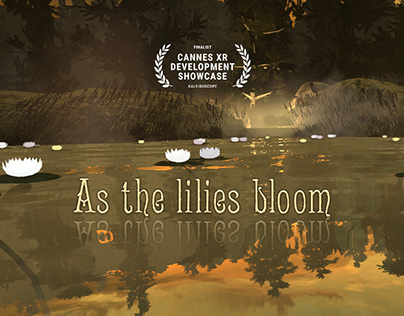 As the lilies bloom