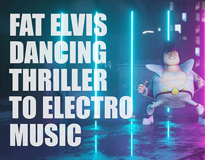 Elvis Dancing Thriller to Electro Music