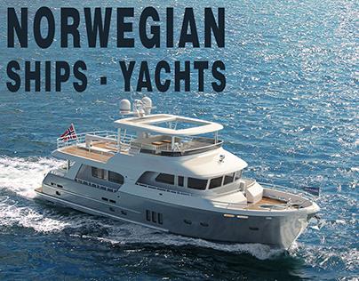 NORWEGIAN SHIPS-YACHTS-BOATS
