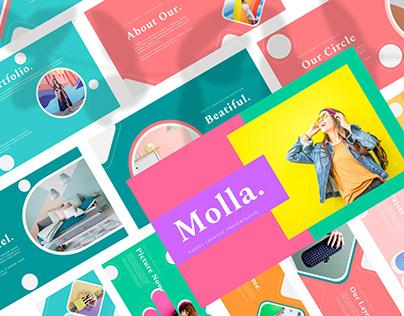 Molla - PowerPoint Template