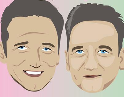 Poparzeni Kawą Trzy - portrety członków zespołu