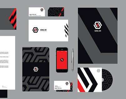 Song Da Group branding identity