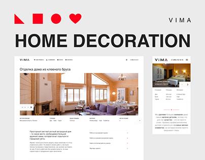 Vima – website