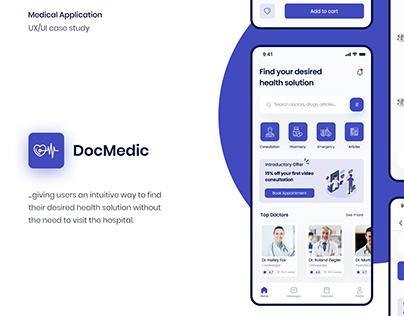 DocMedic UX Case Study