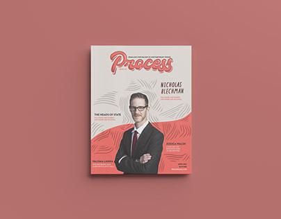 Process Magazine Spreads