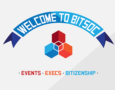 BITSoc Website Mock-up
