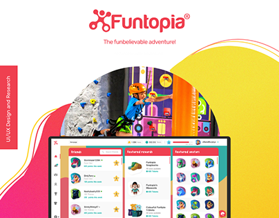 Funtopia Web Application