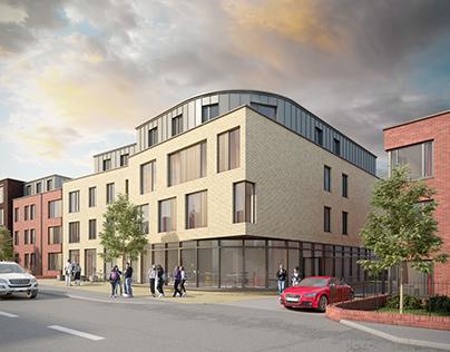 New Colchester Student Accommodation by crisp3d.co.uk