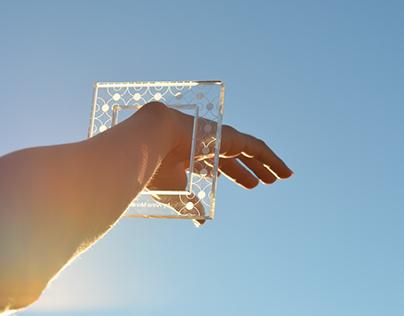 Engraved Plexiglass Bracelet