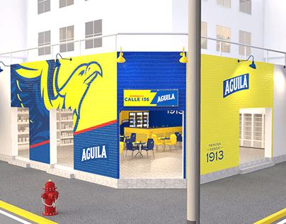 Lanzamiento tiendas Águila nueva imagen