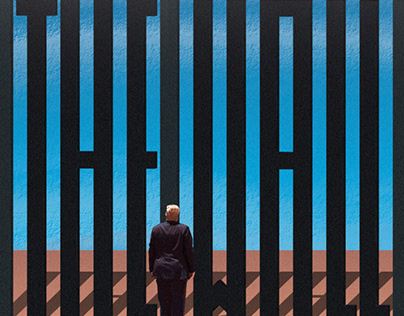 """""""THE WALL"""" by Trump"""