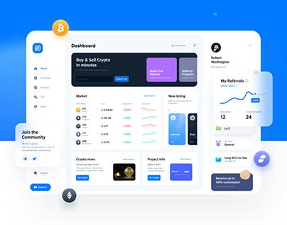 Mtobit Website UX/UI Renewal Concept