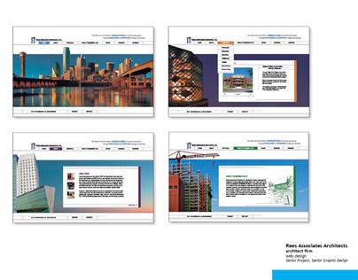 Rees Associates Architects - web design