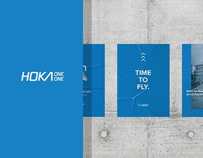 Hoka One One - running shoe brand identity concept