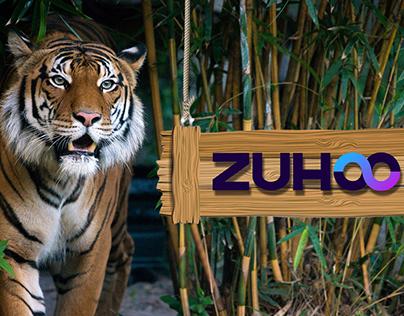 Zuhoo ZooFlat Minimalist Logo