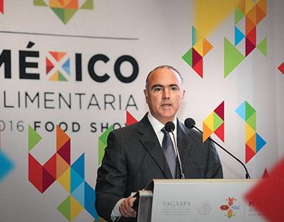 Branding para evento: México Alimentaria 2016 SAGARPA