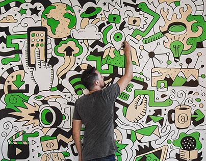 Mural Art // Cobra Criada