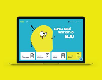 nju.mobile (Orange) - official website in Poland