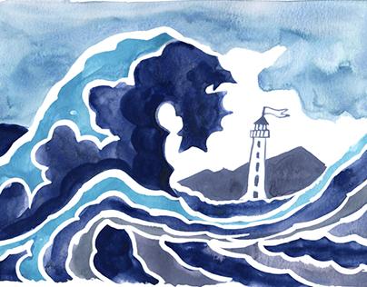 Giant Wave Lighthouse