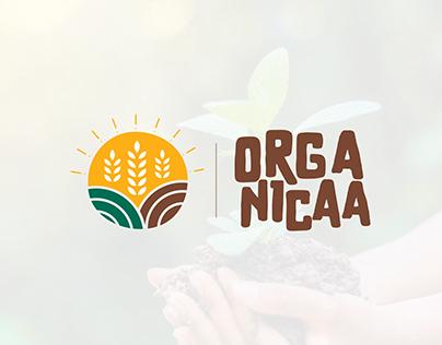 Organic Logo - Organicaa