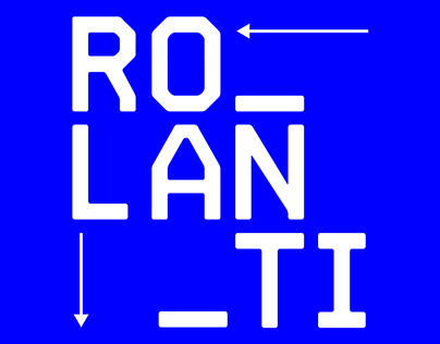 Rolanti Typeface