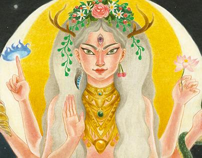 DURGA - Illustration