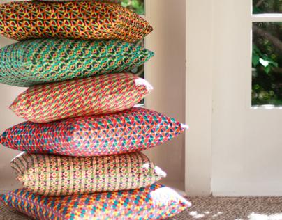 Bibu Angular Cushions Collection
