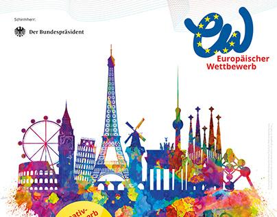 Europäischer Wettbewerb Plakate