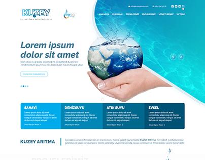 Kuzey Arıtma - UI Design Concept