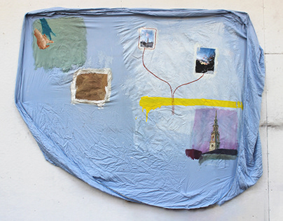 Bedsheet painting 02