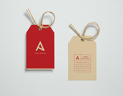 Andy Bonura Brand Identity