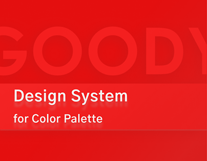 UI/UX for Goody Design System for Color Palette