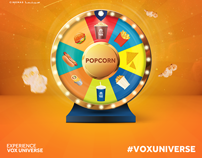 VOX Cinemas - Food and Beverages Video